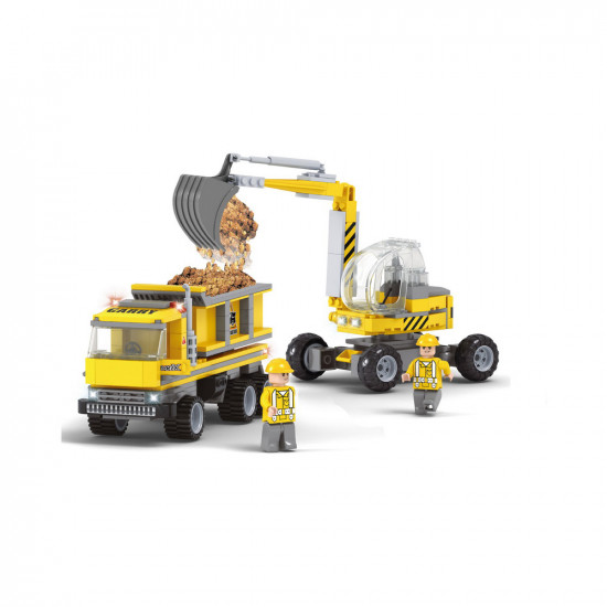 Constructor excavator and loader 293 parts