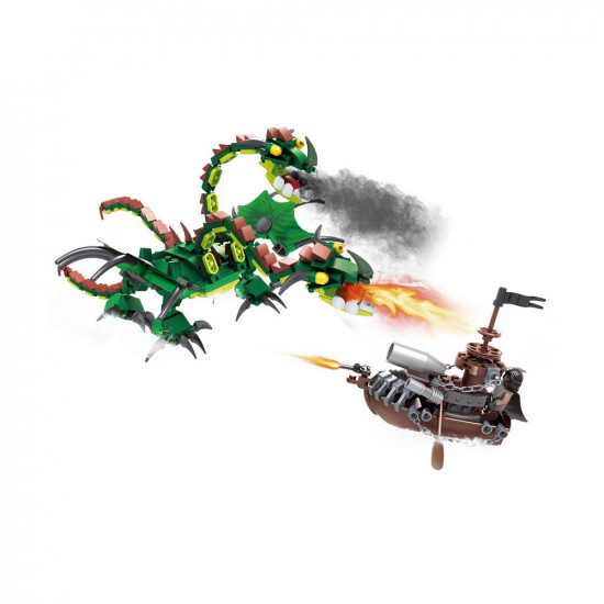 Monster Dragon Constructor and Knight Ships 427 items