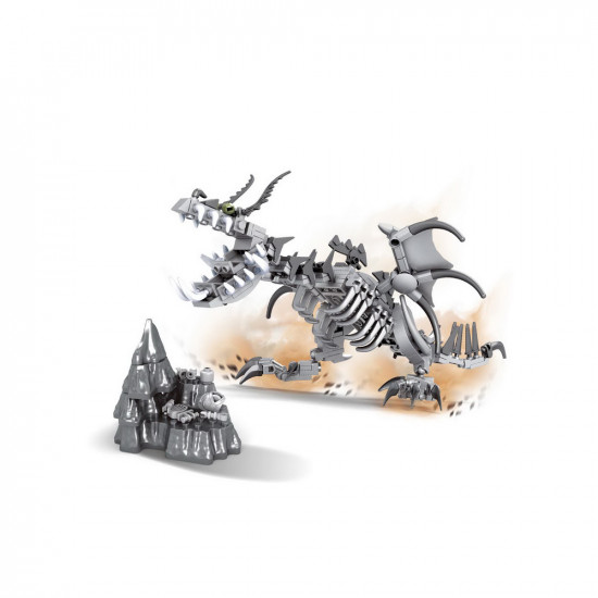 Monster Dragon and Wall Constructor 226 parts