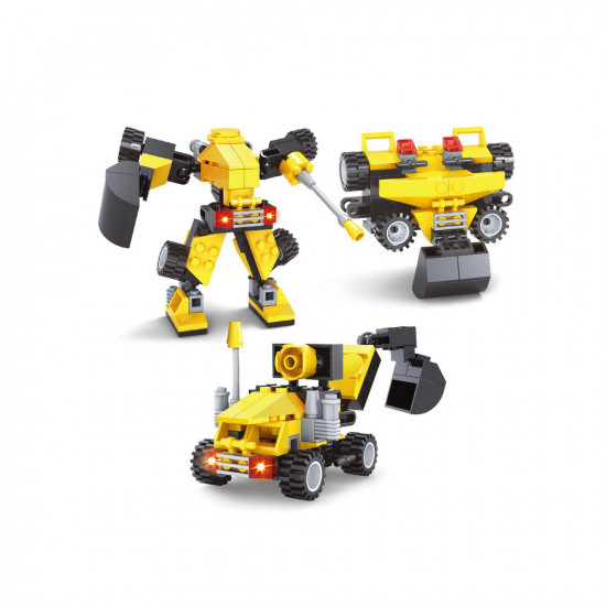 Constructor excavator, robot and roller 82 parts