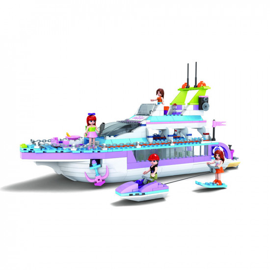 Constructor yacht, 4 girls, boat and jet ski 480 parts
