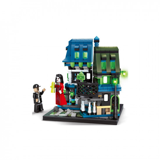 Constructor fairy house with a queen and a man 441 items